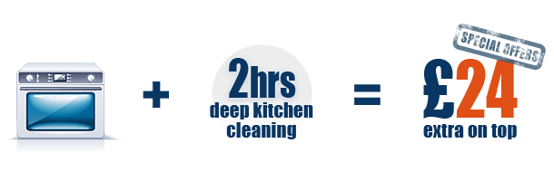 Professional Oven Cleaning and deep kitchen cleaning Special Offer