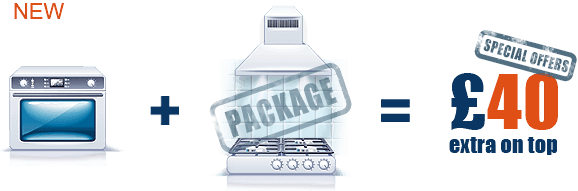Professional Oven Cleaning + Hob + Extractor + Splash back for only £  40 extra